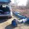 Da Saluggia a Trino in canadese e sea kayak