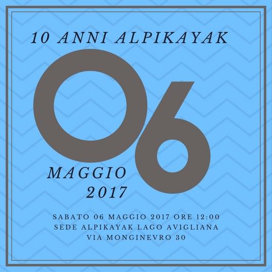 Festa 10 anni AlpiKayak