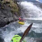La cascata del tratto alto