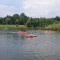 Allegramente in canoa