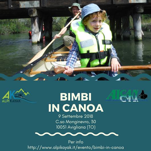 Bimbi in canoa - 2018-09